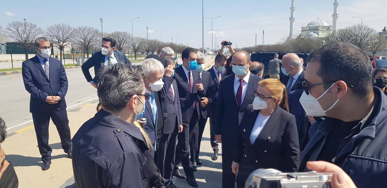 Ticaret Bakanı Pekcan Kapıkule'de İncelemelerde Bulundu.